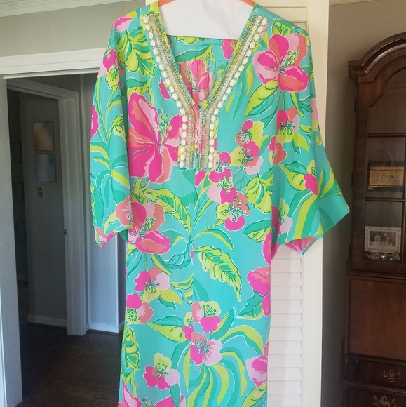 Lilly Pulitzer Dresses & Skirts - Lilly Pulitzer Caftan Dress